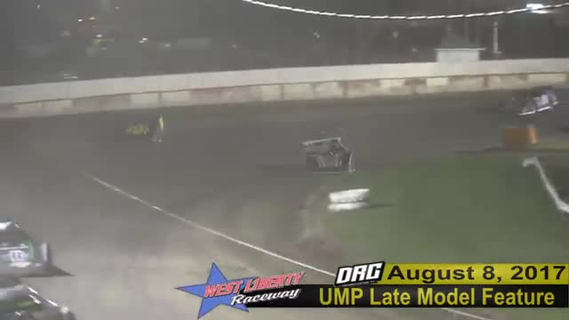 West Liberty Speedway 8/8/17 UMP Late Model Races