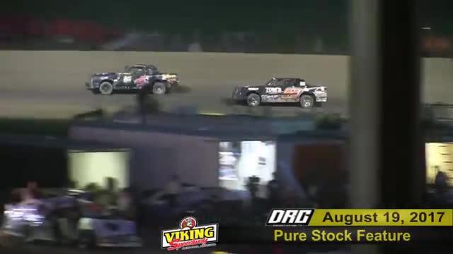 Viking Speedway 8/19/17 Races