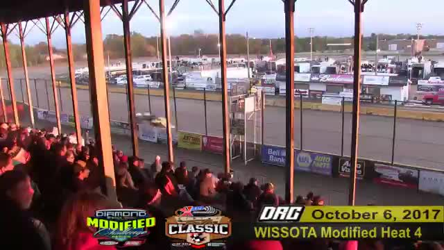 Viking Speedway 10/6/17 WISSOTA Modified Races