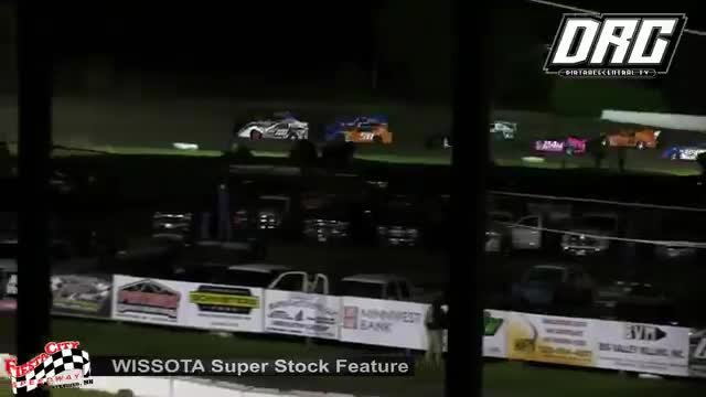 Fiesta City Speedway 5/18/18 WISSOTA Super Stock Races
