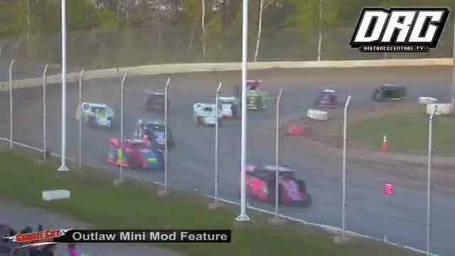 Granite City Speedway 5/20/18 Outlaw Mini Mod Races