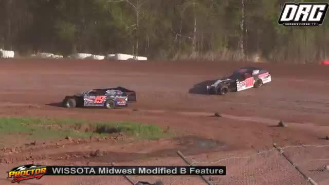 Proctor Speedway 5/20/18 WISSOTA Midwest Modified Races