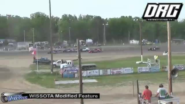 Bemidji Speedway 5/28/18 WISSOTA Modified Races
