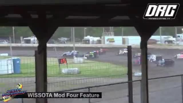 KRA Speedway 5/31/18 WISSOTA Mod Four Races