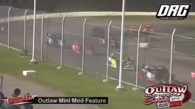 Granite City Speedway 6/1/18 Outlaw Mini Mod Races