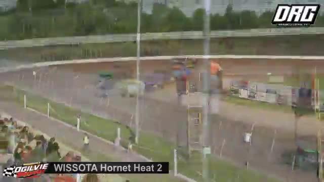 Ogilvie Raceway 6/23/18 WISSOTA Hornet Races