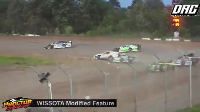 Proctor Speedway 6/24/18 WISSOTA Modified Races