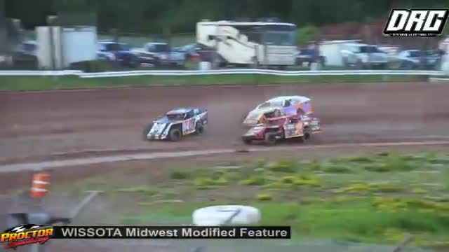 Proctor Speedway 6/24/18 WISSOTA Midwest Modified Races