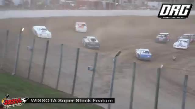 Eagle Valley Speedway 7/7/18 WISSOTA Super Stock Races