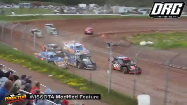 Proctor Speedway 7/22/18 WISSOTA Modified Races