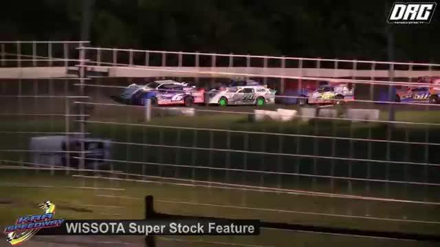 KRA Speedway 7/26/18 WISSOTA Super Stock Races