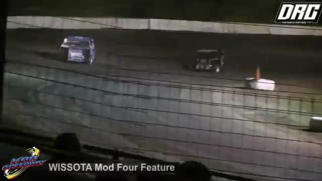 KRA Speedway 8/2/18 WISSOTA Mod Four Races