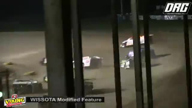 Viking Speedway 8/4/18 WISSOTA Modified Races