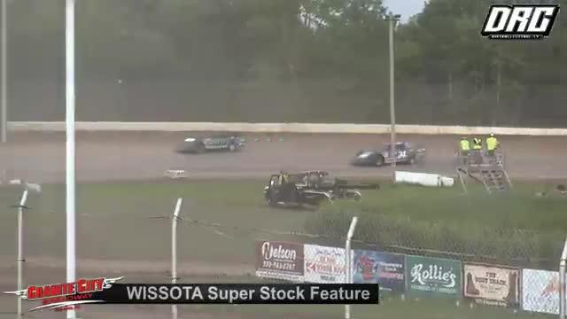 Granite City Speedway 8/5/18 WISSOTA Super Stock Races