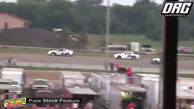 Viking Speedway 8/11/18 Pure Stock Races