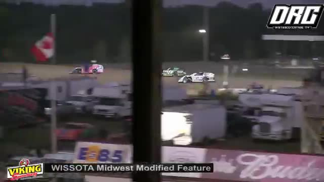 Viking Speedway 8/11/18 WISSOTA Midwest Modified Races