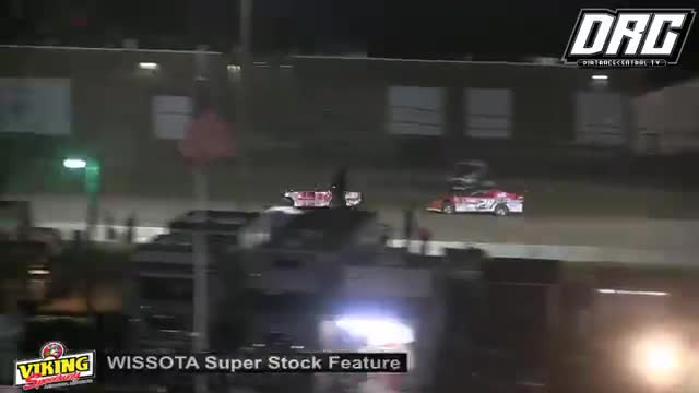 Viking Speedway 8/11/18 WISSOTA Super Stock Races