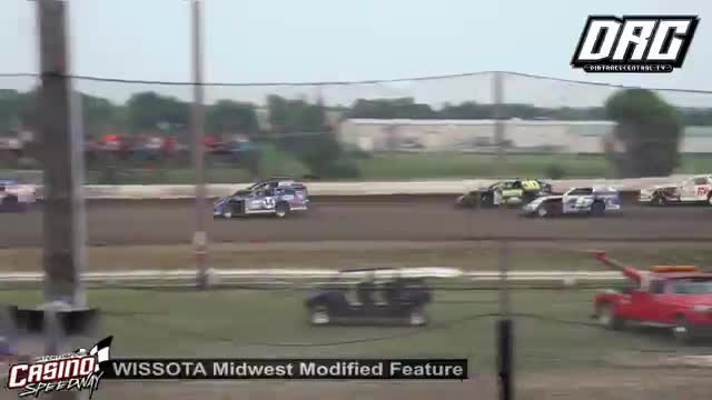 Casino Speedway 8/12/18 WISSOTA Midwest Modified Races