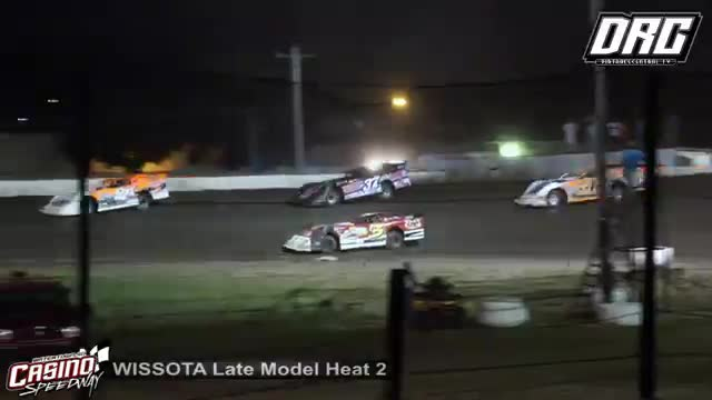 Casino Speedway 8/12/18 WISSOTA Late Model Races