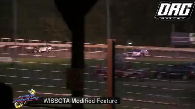 KRA Speedway 8/16/18 WISSOTA Modified Races
