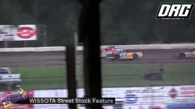 KRA Speedway 8/16/18 WISSOTA Street Stock Races