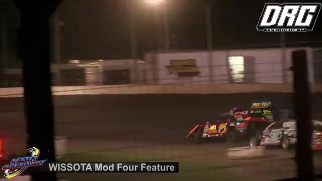 KRA Speedway 8/16/18 WISSOTA Mod Four Races