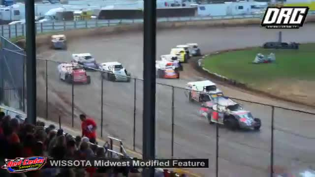 Red Cedar Speedway 8/16/18 WISSOTA Midwest Modified Races
