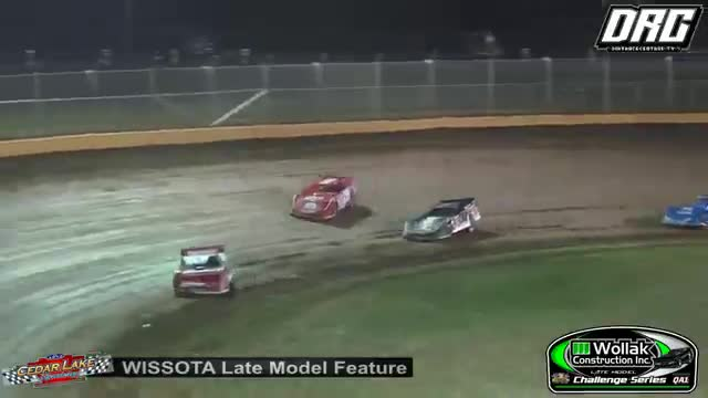 Cedar Lake Speedway 8/18/18 WISSOTA Late Model Challenge Series Races