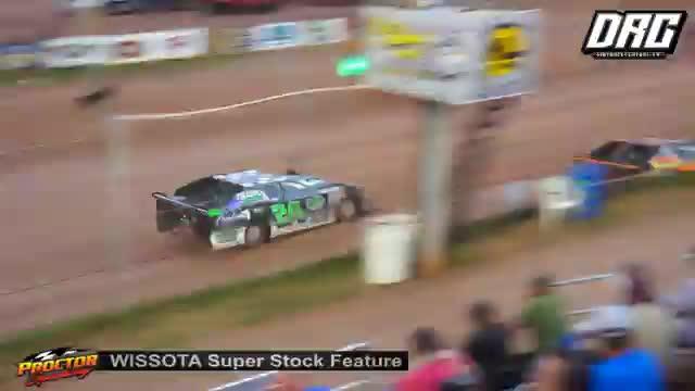 Proctor Speedway 8/19/18 WISSOTA Super Stock Races