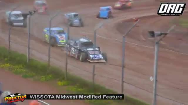 KRA Speedway 8/19/18 WISSOTA Midwest Modified Races