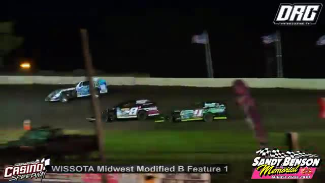 Casino Speedway 8/26/18 WISSOTA Midwest Modified Races