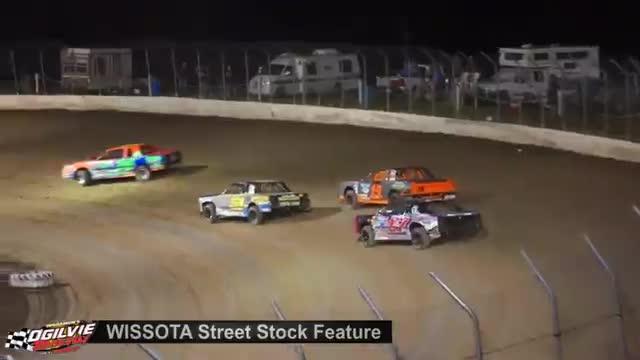Ogilvie Raceway 9/1/18 WISSOTA Street Stock Races