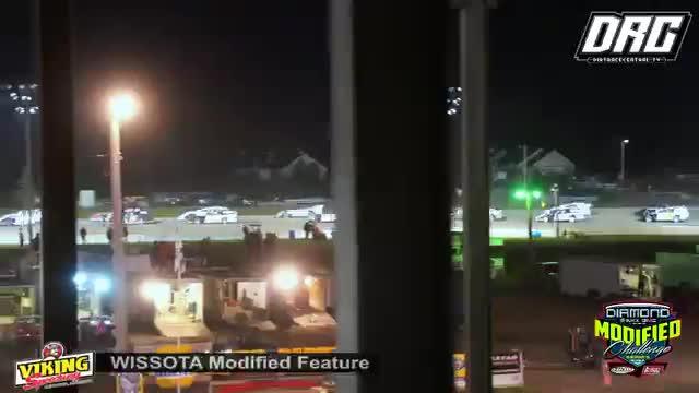 Viking Speedway 9/2/18 WISSOTA Modified Races