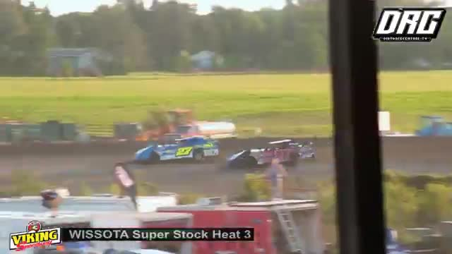 Viking Speedway 9/2/18 WISSOTA Super Stock Races