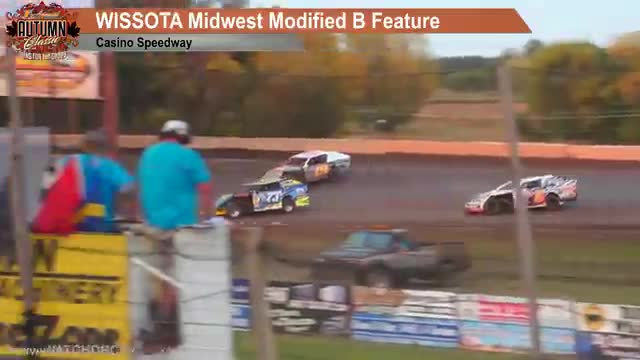 Casino Speedway 9/23/18 WISSOTA Midwest Modified Races