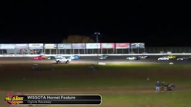 Ogilvie Raceway 10/6/18 WISSOTA Hornet Races