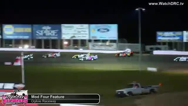 Ogilvie Raceway 10/19/18 Mod Four Races