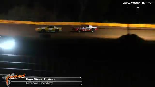 Tomahawk Speedway 10/20/18 Pure Stock Races