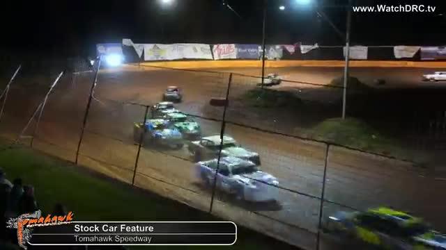 Tomahawk Speedway 10/20/18 Stock Car Feature