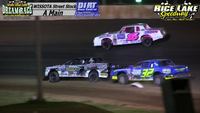 Rice Lake Speedway August 4, 2015 Little Dream WISSOTA Street Stock Feature Race