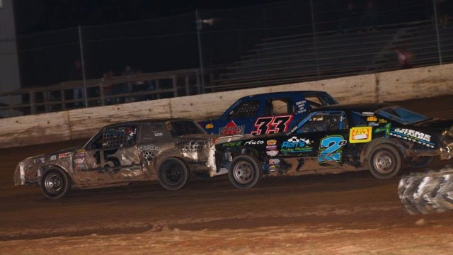 North Central Speedway 9/17/16 IMCA Hobby Stock Races