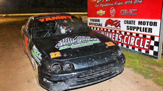 North Central Speedway 8/26/16 IMCA Sport Compact Feature Race