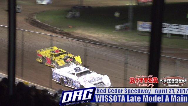 Red Cedar Speedway 4/21/17 WISSOTA Late Model Races