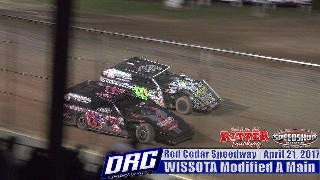 Red Cedar Speedway 4/21/17 WISSOTA Modified Races