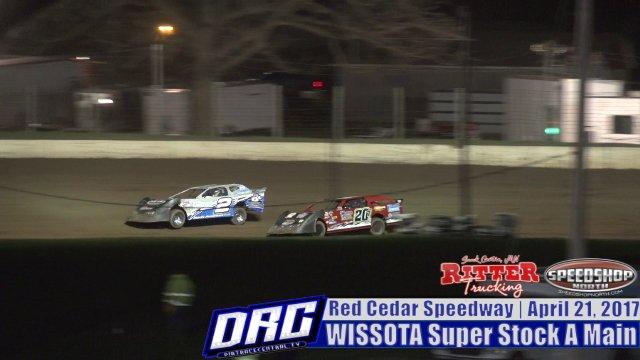 Red Cedar Speedway 4/21/17 WISSOTA Super Stock Races
