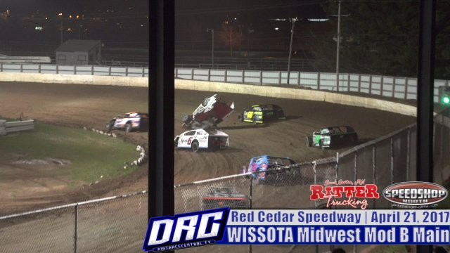 Red Cedar Speedway 4/21/17 WISSOTA Midwest Modified Races