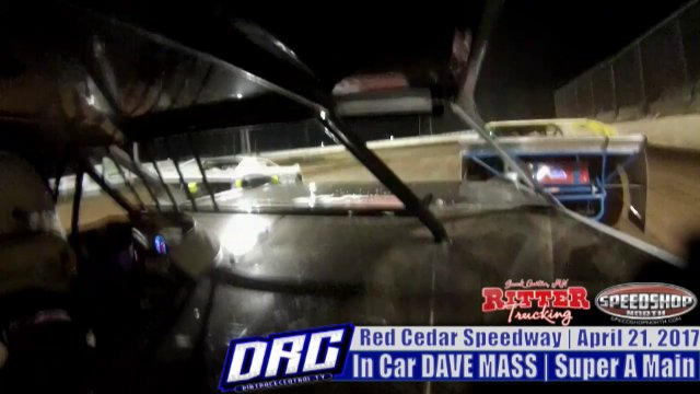 In Car Dace Mass 4/21/17 Red Cedar Speedway WISSOTA Super Stock A Main