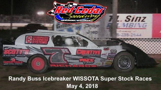 Red Cedar Speedway 5/4/18 WISSOTA Super Stock Races