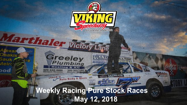 Viking Speedway 5/12/18 Pure Stock Races