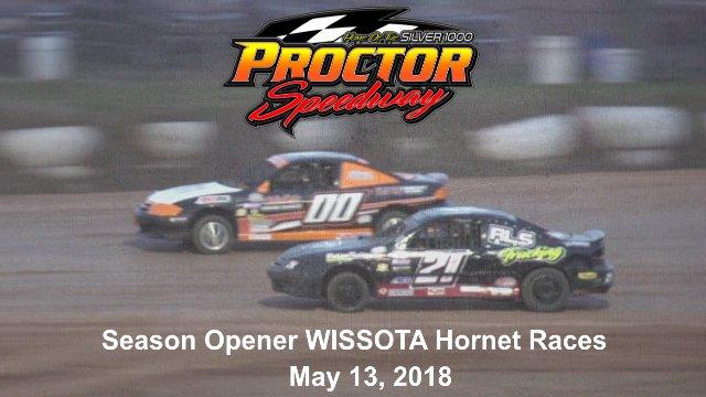 Proctor Speedway 5/13/18 WISSOTA Hornet Races